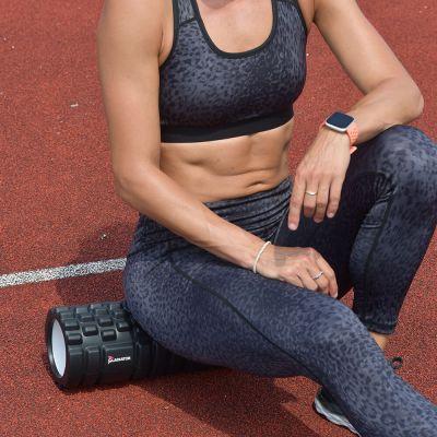 gladiator sports foam roller vrouw