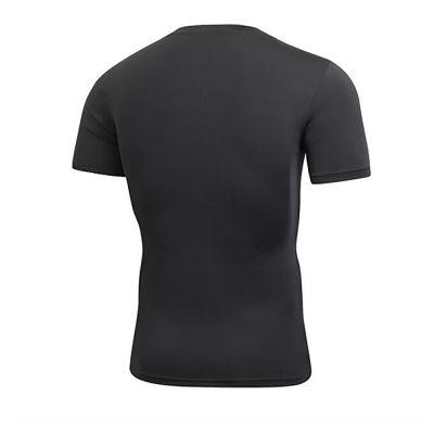 gladiator sports thermoshirt heren zwart van achteren gefotografeerd