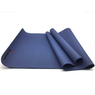 gladiator sports yoga mat blauw