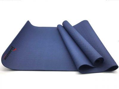 gladiator sports yoga mat blauw kopen