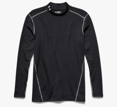 Under Armour ColdGear® Compressieshirt zwart