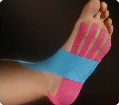 kinesiotape voet