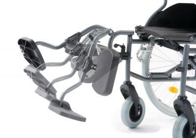Multimotion rolstoel M6 verstelbare beensteun