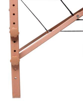 Massagetafel houten frame