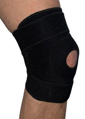 Medidu wikkel kniebandage achterkant