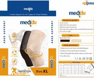 Medidu Premium kniebrace met baleinen verpakking