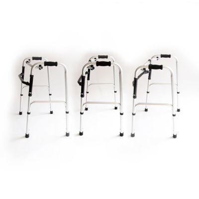 medidu lichtgewicht looprek met scharnieren inklapbaar meerdere rollators op de foto
