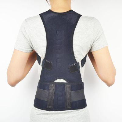 medidu premium houding corrector posture corrector ventilerend gedragen door vrouwelijk model