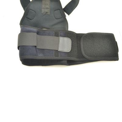 medidu premium houding corrector posture corrector ventilerend ongedragen buikband gefotografeerd