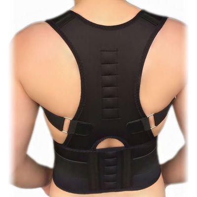 medidu premium houding corrector posture corrector ventilerend gedragen op ontblote rug
