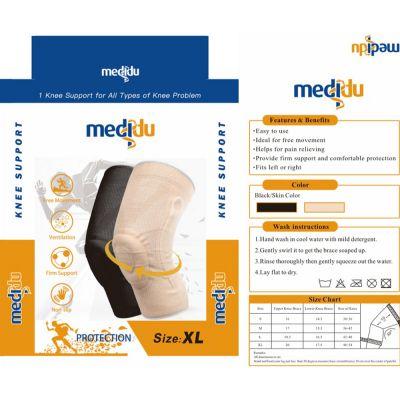 medidu premium kniebrace met baleinen lichtgewicht verpakking