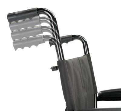 MultiMotion Rolstoel M1 Plus verstalbaar handvat