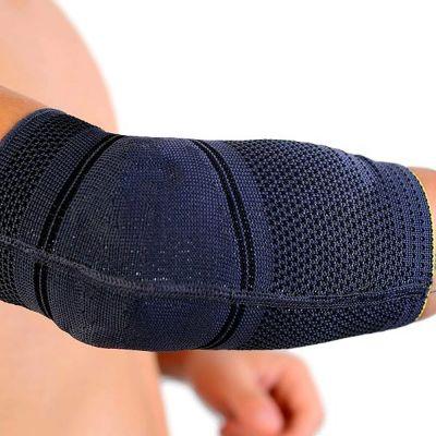 novamed elleboogbrace premium comfort met elleboog omhoog