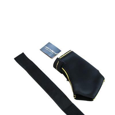 novamed enkelbrace met straps uitgevouwen