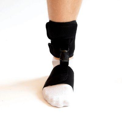 novamed klapvoet brace shoeless accessoire foto van voren genomen