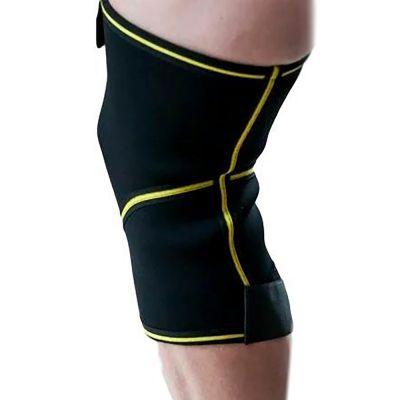 novamed kniebrace met gesloten patella achterkant gefotografeerd