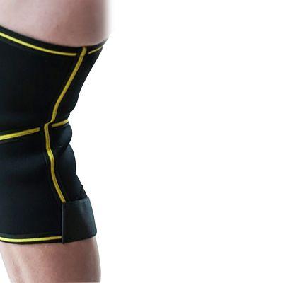 novamed kniebrace met scharnieren foto van de binnenkant van de rechterknie