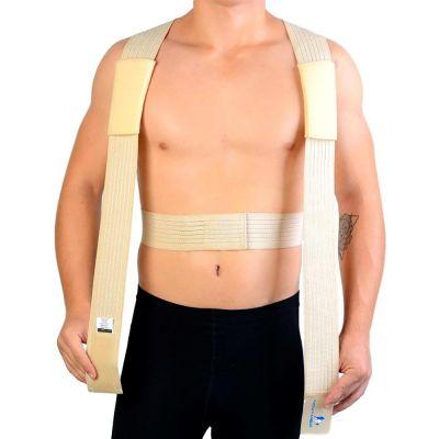 novamed ventilerende rugrechthouder houding corrector met schouderbanden los