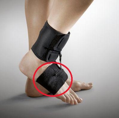 Össur Klapvoet brace - Shoeless