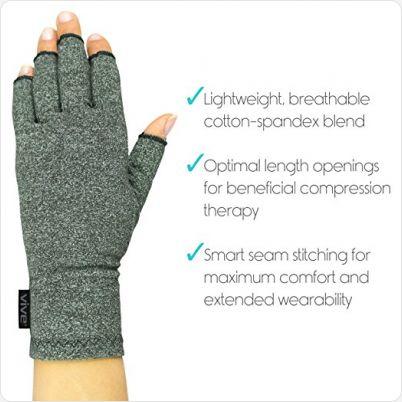Reuma Handschoenen met antisliplaag eigenschappen