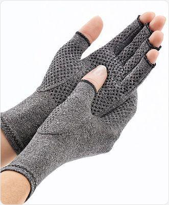 Reuma Handschoen met sliplaag