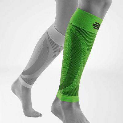 Bauerfeind compressie sleeves groen