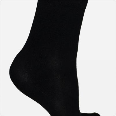 Solelution Sokken met siliconen gel hiel binnekant