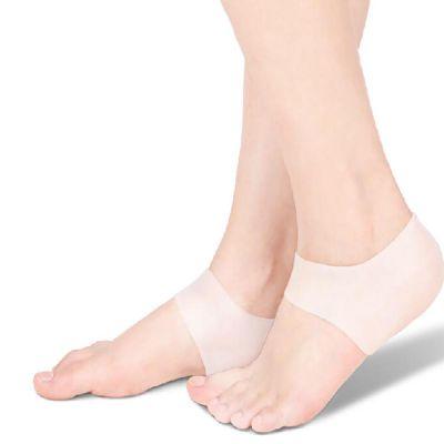 solelution siliconen hiel gelsokken om beide voeten