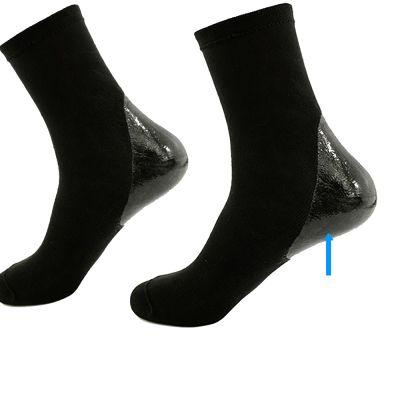 solelution sokken met siliconen gel hiel