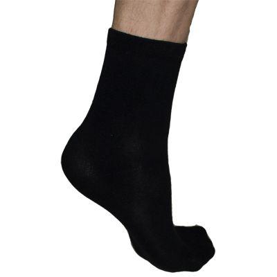 solelution sokken met siliconen gel hiel met gel hiel aan de binnenkant gedragen