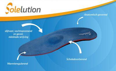 solelution arch steunzolen doorgezakte voorvoet productinformatie