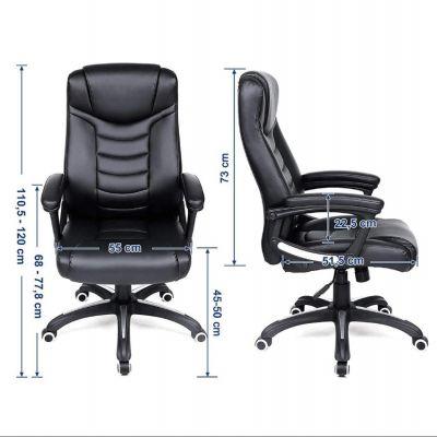 Ergolution - Luxe Design bureaustoel met hoog zitcomfort