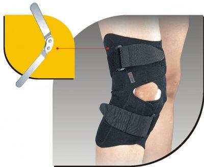 Super Ortho wikkel kniebandage met schanieren