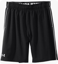 Under Armour Trainingsshort Mirage Heren Zwart