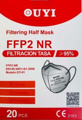 verpakking ffp2 maskers 20 stuks