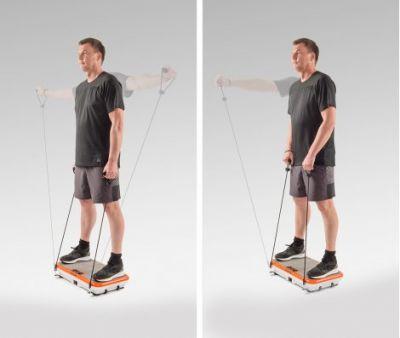 VibroShaper trilplaat - Met oscillatietechnologie  – inclusief stretchbands