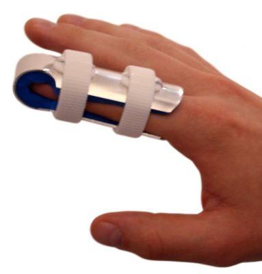 Dunimed vingerspalk met strap