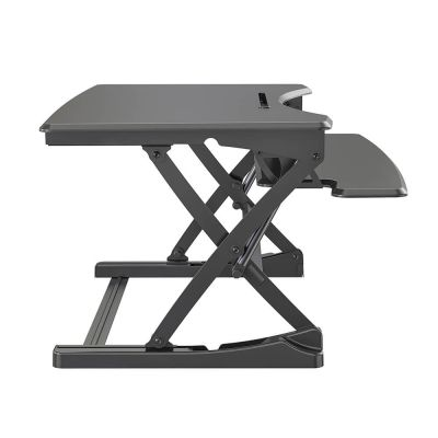 ergonomisch in hoogte verstelbaar zit sta bureau zijkant