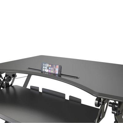 ergonomisch in hoogte verstelbaar zit sta bureau ingeklapt